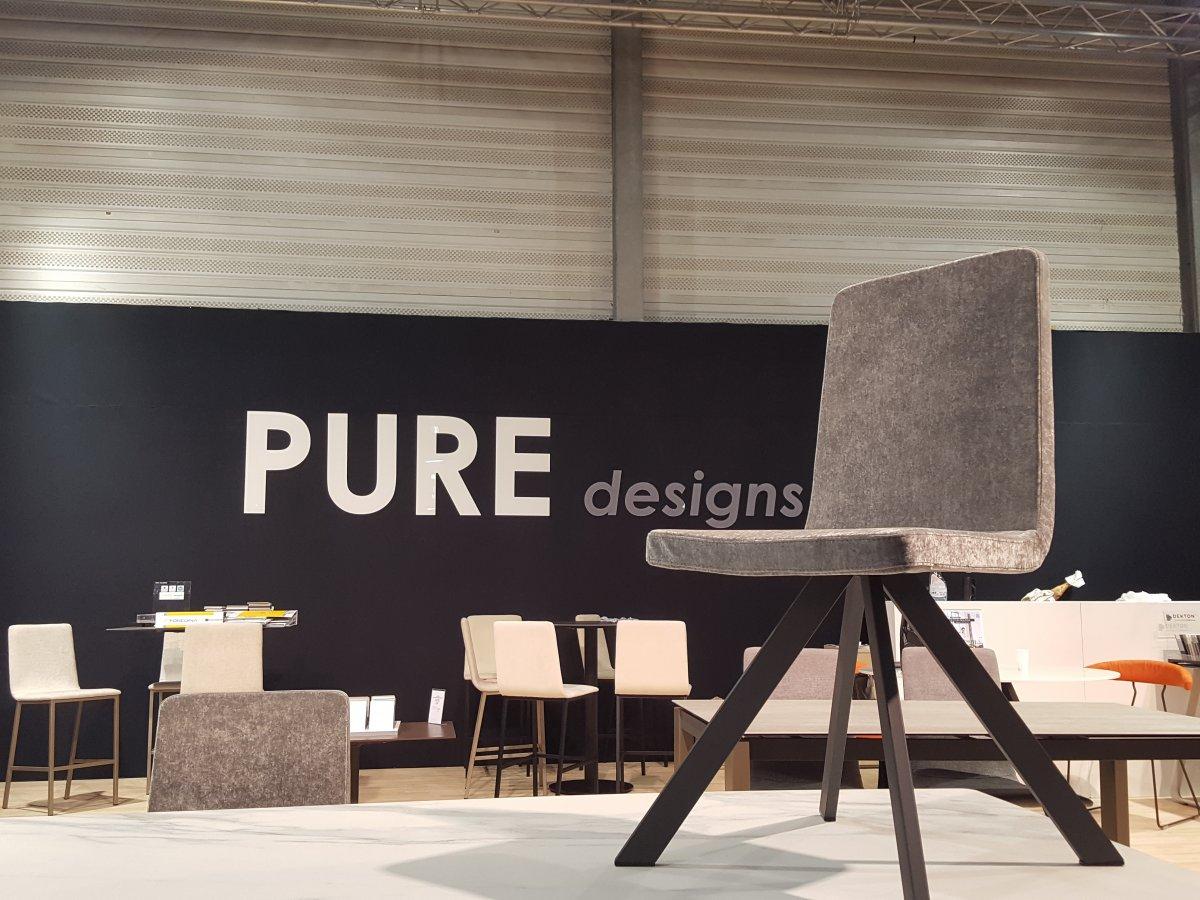 fotos feria salon du mobilier nantes pure designs dekton by cosentino tables. Black Bedroom Furniture Sets. Home Design Ideas
