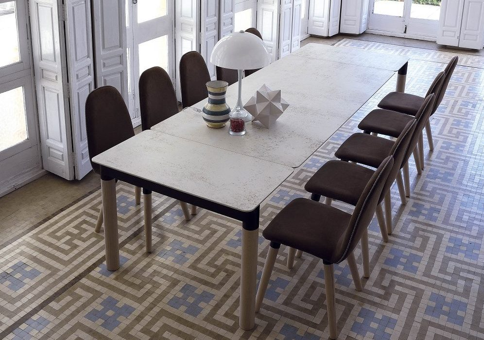 HARLEY PLUS  DEKTON NILIUM-CERAMIC-MESA DE COMEDOR-TABLE DE SALLE A MANGER-EESTISCH-DINING TABLE