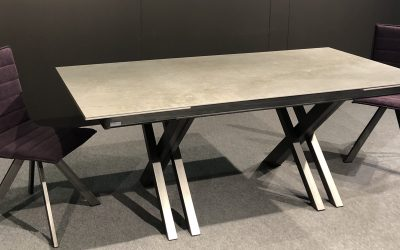 CROSSFIRE DEKTON-CERAMIC-MESA DE COMEDOR-TABLE DE SALLE A MANGER-EESTISCH-DINING TABLE