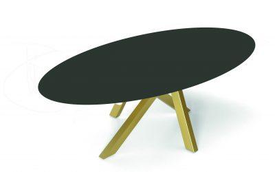 MOON OVAL DEKTON-CERAMIC-MESA DE COMEDOR-TABLE DE SALLE A MANGER-EESTISCH-DINING TABLE