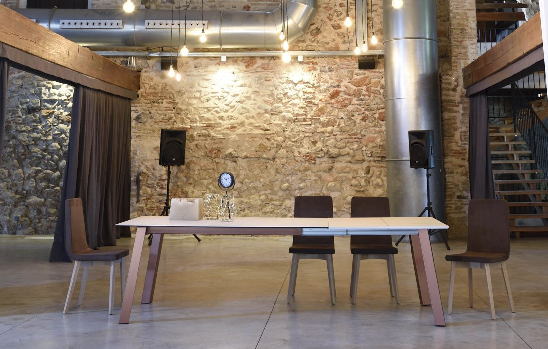 CHARLOTTE-MESA DE COMEDOR-TABLE DE SALLE A MANGER-EESTISCH-DINING TABLE