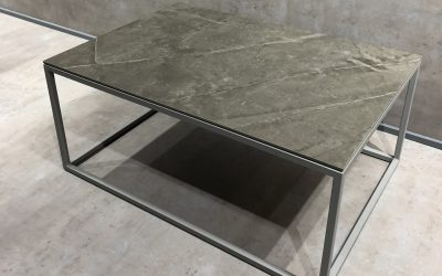 PARIS CERAMIC DEKTON MESA DE CENTRO -TABLE BASSE- COFFEE TABLE- COUTISCH