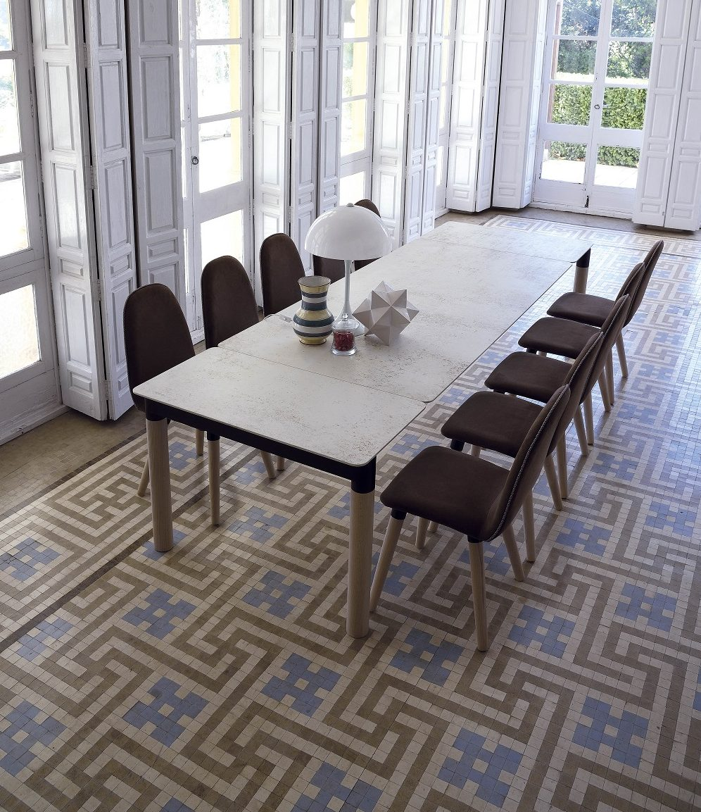 HARLEY PLUS  DEKTON NILIUM-CERAMIC-MESA DE COMEDOR-TABLE DE SALLE A MANGER-EESTISCH-DINING TABLE