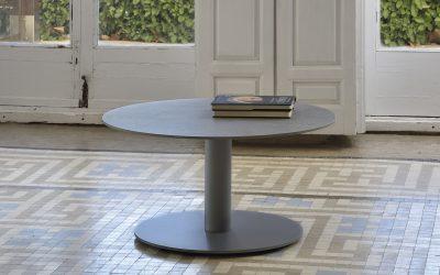 ROUND CERAMIC DEKTON MESA DE CENTRO -TABLE BASSE- COFFEE TABLE- COUTISCH