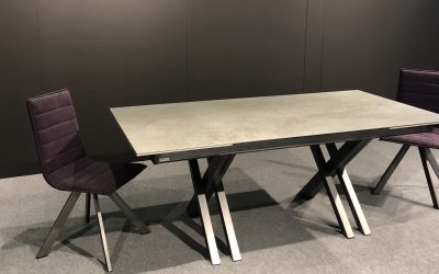 CROSSFIRE DEKTON-CERAMIC-MESA DE COMEDOR-TABLE DE SALLE A MANGER-EESTISCH-DINING TABLE